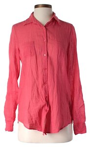 Antik Batik Longsleeve Button Down Shirt Pink