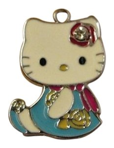 Sanrio Dressed In Blue Hello Kitty Charm