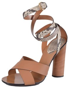 Gucci Heels Brown Sandals