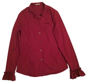 Miu Miu Button Down Shirt Fuchsia