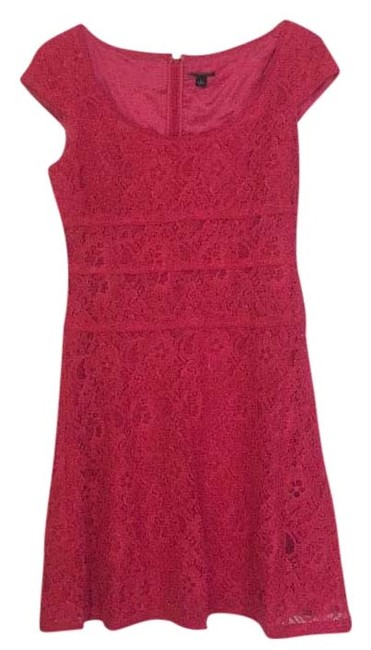 Preload https://img-static.tradesy.com/item/16382929/ann-taylor-pink-lace-knee-length-cocktail-dress-size-2-xs-0-1-650-650.jpg