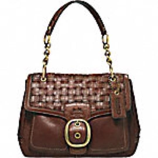 Preload https://img-static.tradesy.com/item/16382953/coach-bleecker-woven-flap-style-12364-cognac-brown-tan-pebbled-leather-shoulder-bag-0-0-540-540.jpg