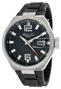 Kenneth Cole Kenneth Cole Female Casual Watch KC4812 Black Analog