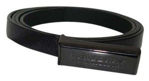 Burberry Belt made in Italy dark Burgundy