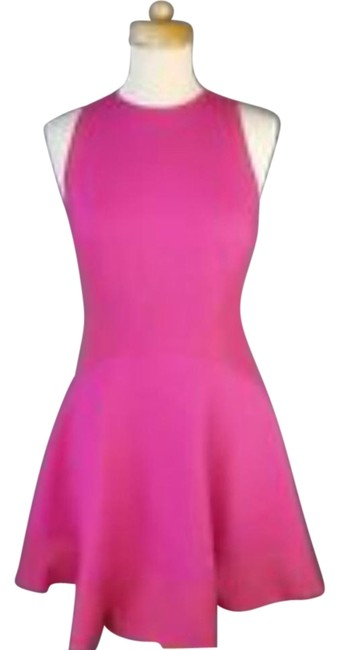 Preload https://img-static.tradesy.com/item/16383391/ted-baker-pink-scuba-fit-and-flare-above-knee-cocktail-dress-size-0-xs-0-3-650-650.jpg
