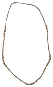 MONET Monet Gold plated beaded strand necklace