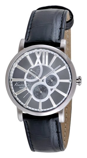 Kenneth Cole Kenneth Cole Male Dress Watch KC1980 Silver Analog