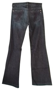 7 For All Mankind Trouser/Wide Leg Jeans-Dark Rinse