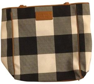Kate Spade Tote in Black And White Checkered Tote