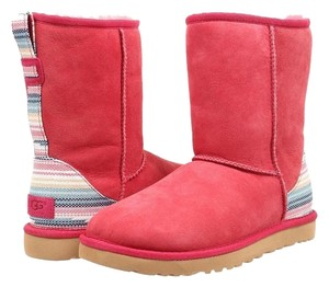 UGG Australia Sunset Red Twinface Boots