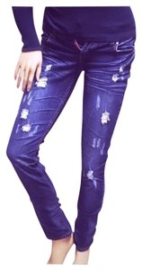 Almost Famous Clothing Distressed Destroyed Sexy Ripped Skinny Skinny Jeans