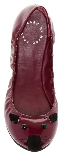 Preload https://img-static.tradesy.com/item/16384312/marc-by-marc-jacobs-merlot-sacchetto-leather-mouse-box-dust-bag-new-355-flats-size-us-55-regular-m-b-0-1-540-540.jpg