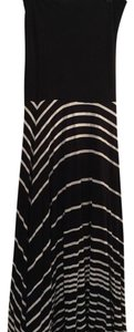 Black and white striped Maxi Dress by INC International Concepts
