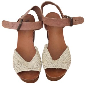 MIA Brown & Cream Mules