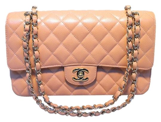 Preload https://img-static.tradesy.com/item/1638509/chanel-classic-255-shoulder-bag-peach-1638509-0-0-540-540.jpg