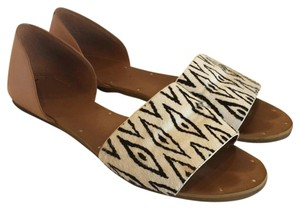Madewell Black, white, camel Sandals