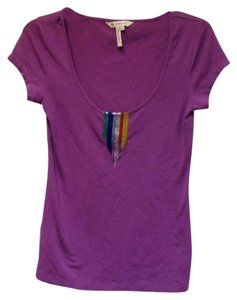 BCBGeneration T Shirt Purple