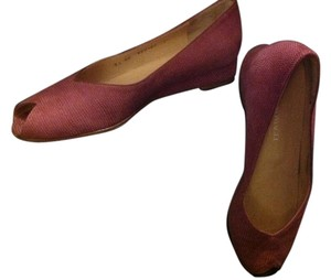 Bruno Magli Mauve Wedges