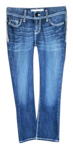 BKE Capri/Cropped Denim-Medium Wash