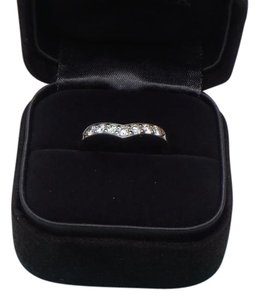 Tiffany & Co. Tiffany & Co. Diamond & Platinum Heart Band Ring SZ 7 with box, free resize