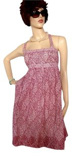 Magenta Floral Maxi Dress by J.Crew Cotton
