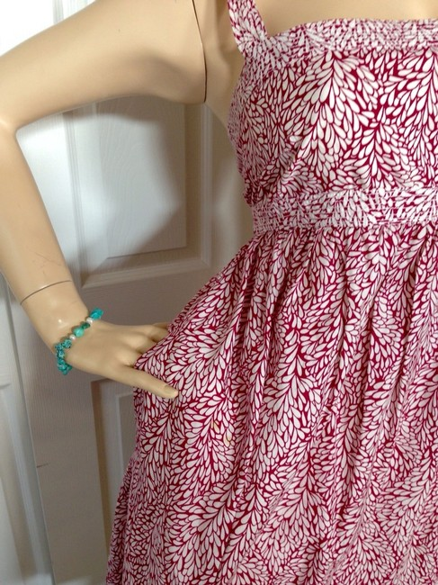 Magenta Floral Maxi Dress by J.Crew
