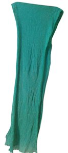 Yigal Azrouël Yigal Azrouell nwt $120 green with metal thread scarf