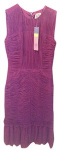 Tory Burch Red Pleated Dress