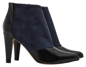 Reiss Blue navy/black Boots