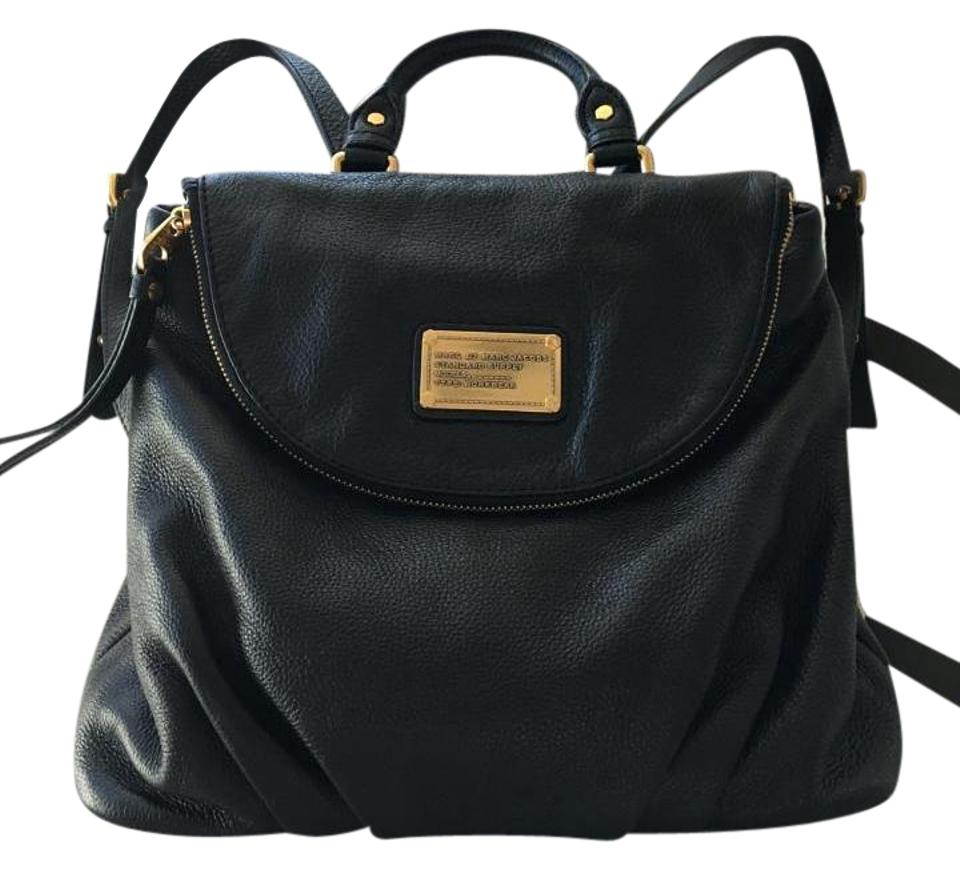 eef42d0244a Marc by Marc Jacobs Classic Q Mariska Black Leather Backpack - Tradesy
