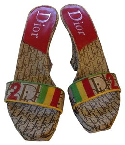 Dior Rasta Wedges