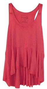 Free People Top Red orange