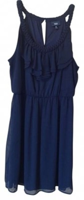 Preload https://item5.tradesy.com/images/target-black-ruffle-above-knee-workoffice-dress-size-8-m-163884-0-0.jpg?width=400&height=650
