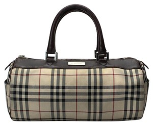 Burberry Bowling Satchel in Nova Check