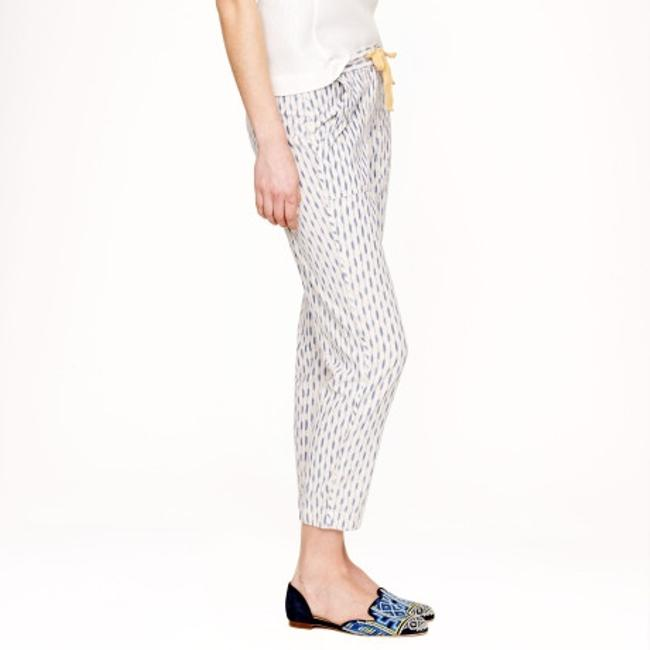 J.Crew Relaxed Pants Blue Bead Image 3
