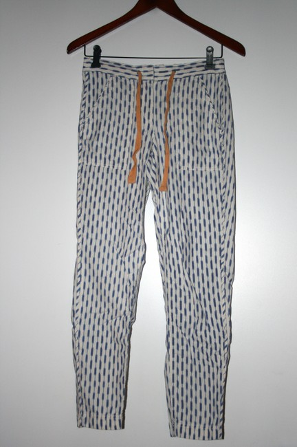J.Crew Relaxed Pants Blue Bead Image 5
