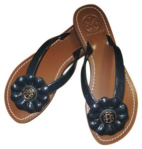 Tory Burch Deep Navy Blue Sandals