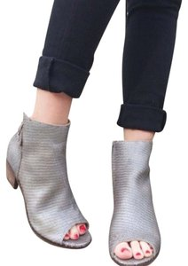 Matisse Pewter Boots