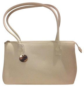 Lamarthe Leather Satchel in White