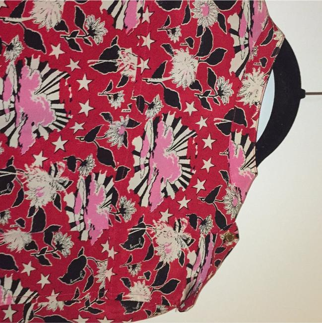 Juicy Couture Top Red Multi