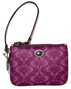 Coach Wristlet in Light Pink And Regular Pink