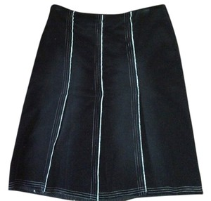Ruthie Davis Skirt Black with white