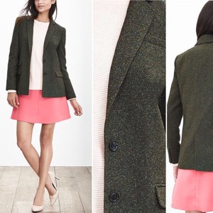 Banana Republic Green Olive Blazer