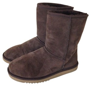 UGG Australia Short Classic Brown Chocolate Dark Brown Boots