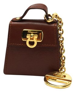Salvatore Ferragamo Salvatore Ferragamo Gancini Bag Charm Key Holders Key Chain
