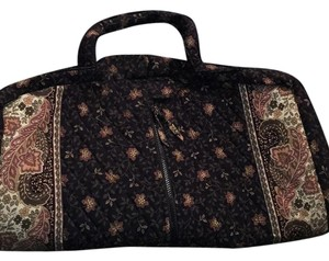 Vera Bradley Black / Walnut Travel Bag
