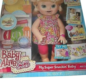 Baby Alive Doll Baby Alive My Super Snackin Baby
