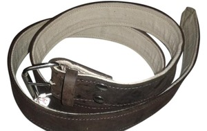 Other new brown belt with fabric inside