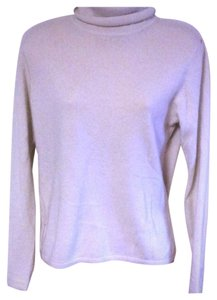 LXRI Mint Cashmere Cream Classic Turtleneck Size M Sweater