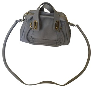Chloé Paraty Chloe Satchel in motty grey